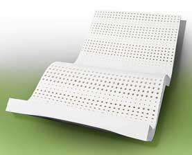 ที่นอนยางพารารุ่น Comforal ใช้โฟมยางพาราแบบ 7 โซนทั้งชิ้น